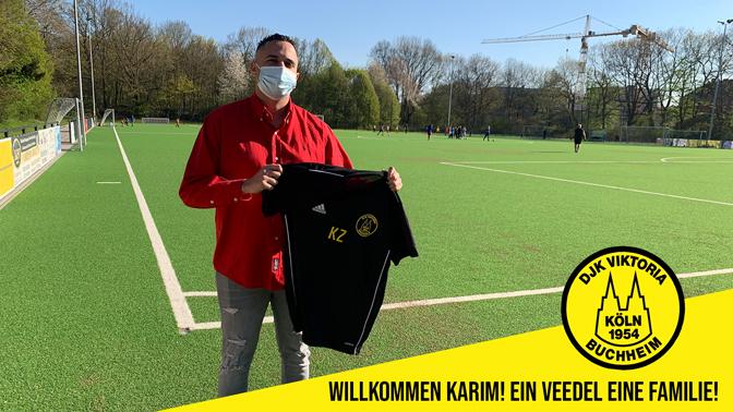 Karim Zaiani – neue Unterstützung in der Jugendleitung!