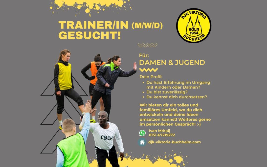 Trainer/in (m/w/d) für Damen & Jugend gesucht!